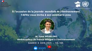 Webinaire Journée mondiale de l'Environnement
