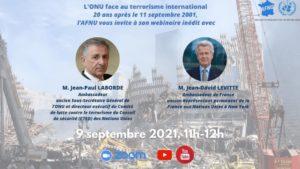 Webinaire «L'ONU face au terrorisme international»
